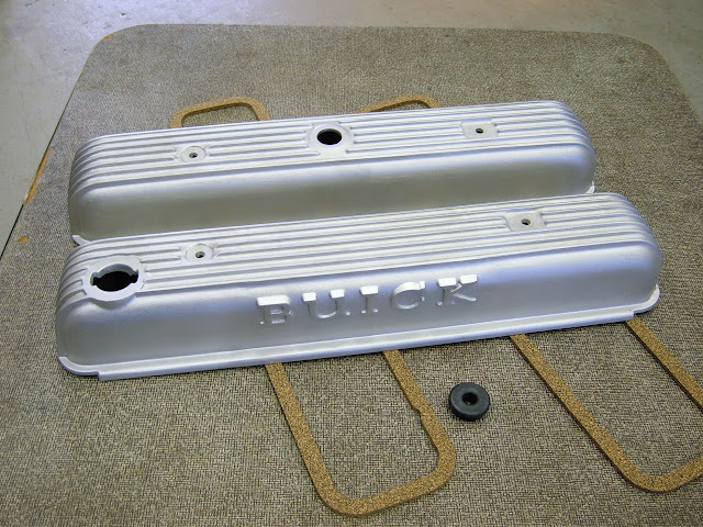 # GS425 covers, the 1964-65 versions, came on the 425 Super Wildcat but fit all nailheads, 289.00 with gaskets and grommet.