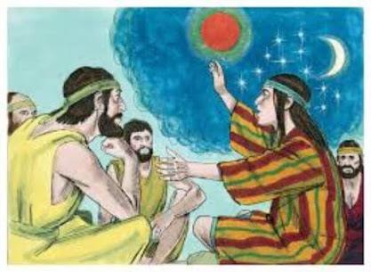 José, seus irmãos, o sol, a lua e as estrelas