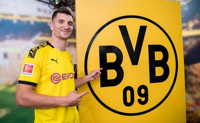 Dortmund Signs PSG Defender Meunier