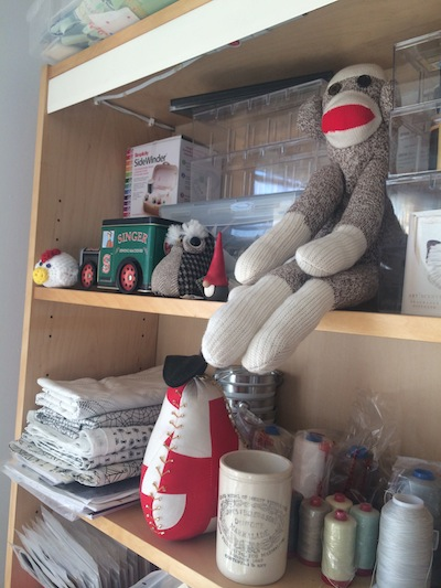Sewing mascots