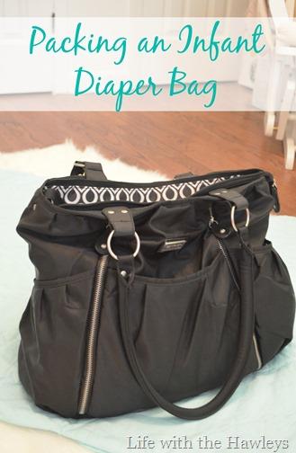 Infant Diaper Bag