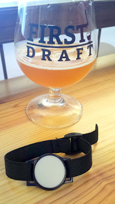 First Draft in Denver, Colorado you put down a credit card and get a wristband in order to track your pours at this pour your own and pay only by the ounce beer bar