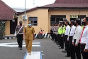 Jelang Hari Raya Idul Fitri 1442 H,Polres Soppeng Melaksanakan Apel Gelar Pasukan OPS Ketupat 2021