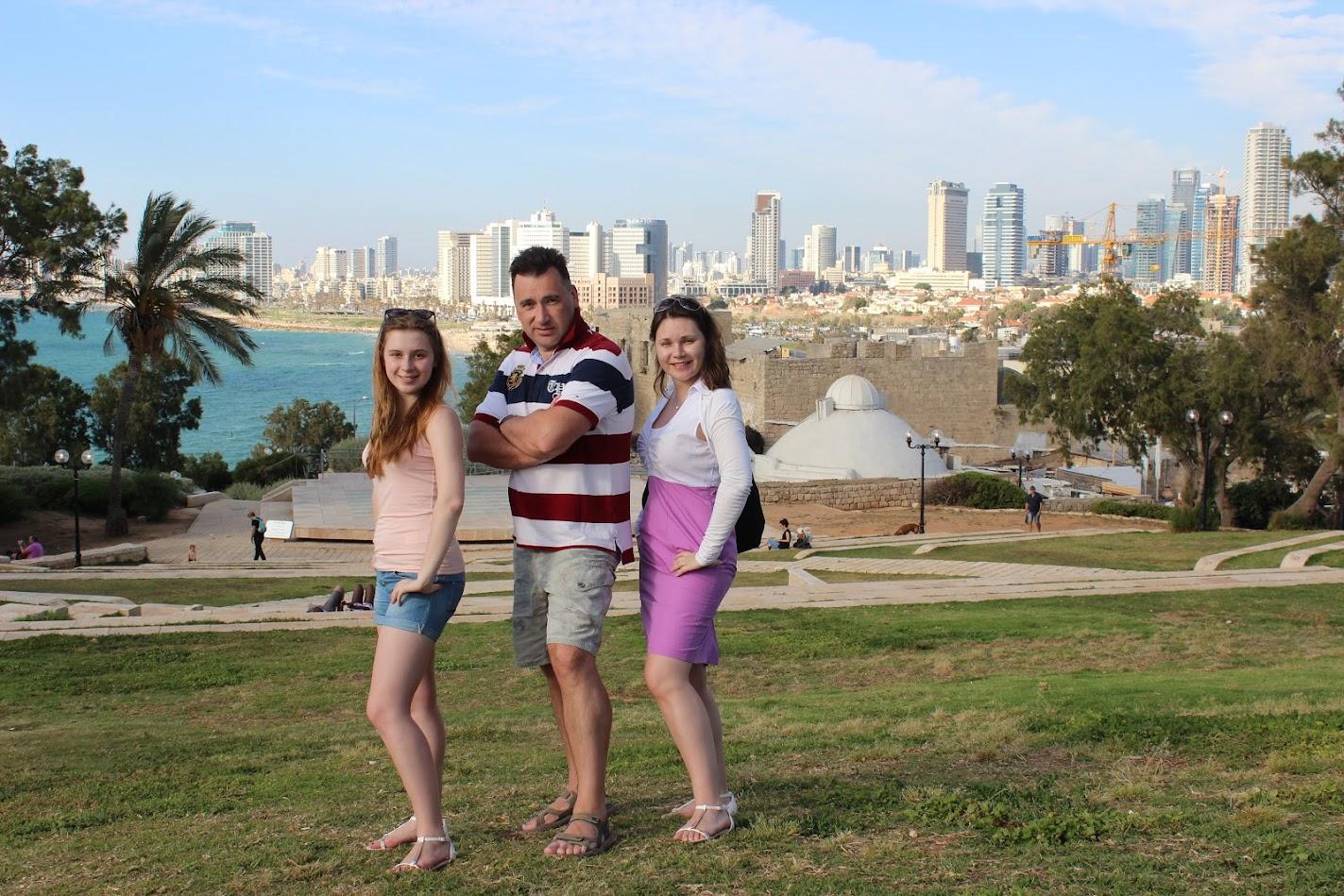 Зимины в Израиле май 2015