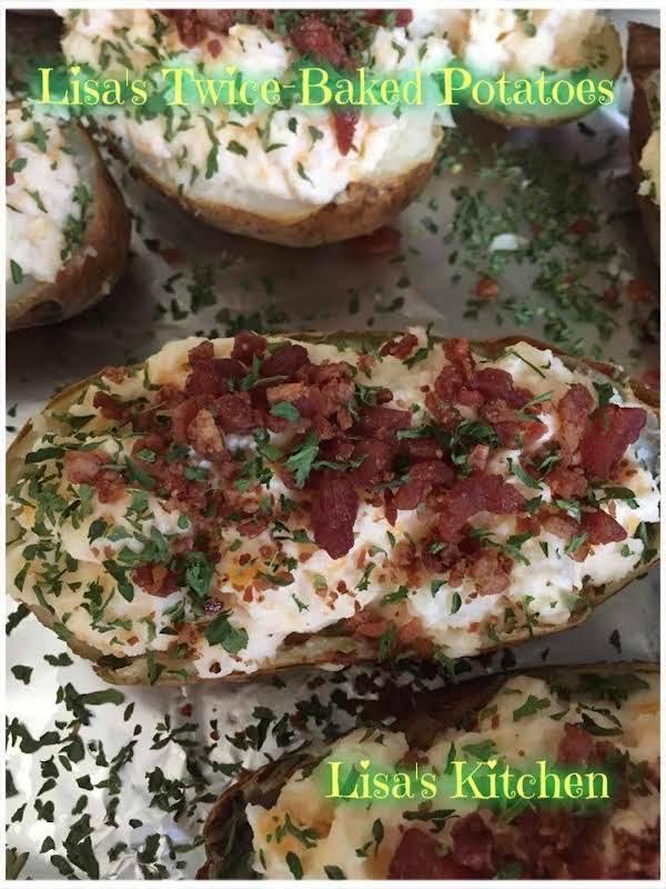 Lisa's Twice-baked Potatoes Recipe