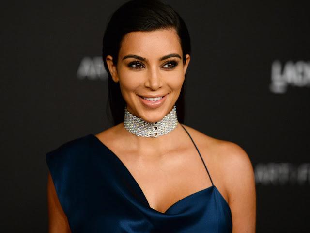 Kim Kardashian Shows 'Everything' In Transparent Dress (Photo)