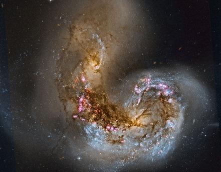 galáxias Antennae