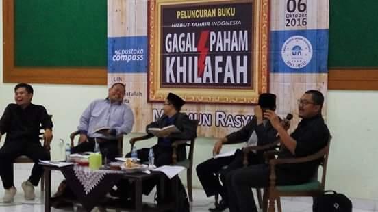 Peluncuran Buku HTI Gagal Paham Khilafah