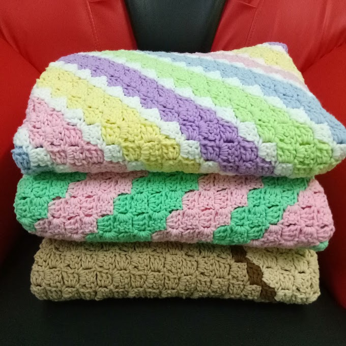 Selimut Crochet Projek Amal Pesakit Kanser