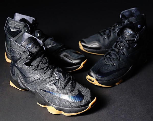 Available Now Nike LeBron XIII Black Lion