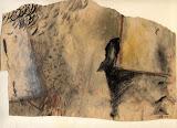 les greniers / papier t.mixte / 20x35 /1995