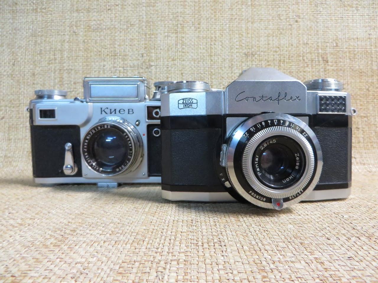 Vintage Camera Pair