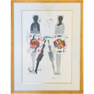 Signed Lithograph After Dali #2