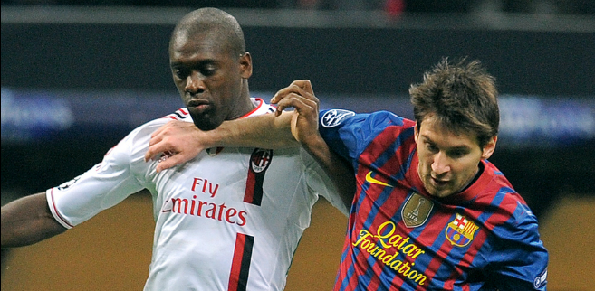 Lionel Messi, AC Milan - Barcelona