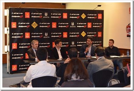 Matías Díaz y Maxi Sánchez presentan su proyecto deportivo como pareja para el 2016.