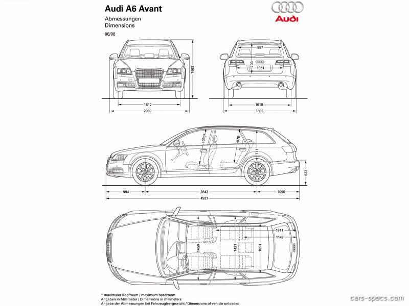 2011 audi a6 wagon specifications pictures prices. Black Bedroom Furniture Sets. Home Design Ideas