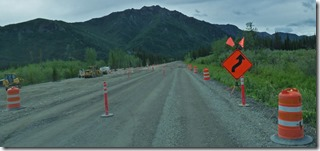 Road Construction, Glenn Highway