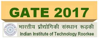 Graduate Aptitude Test in Engineering (GATE - 2017) Exam Notification