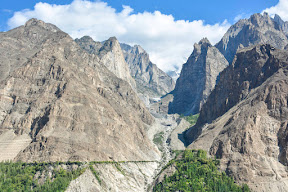 Hunza valley and Ultar Glacier trek.