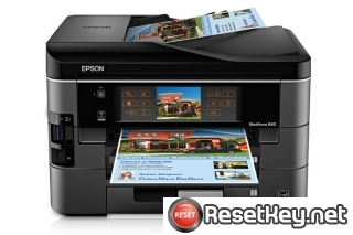 Reset Epson WorkForce 840 End of Service Life Error message