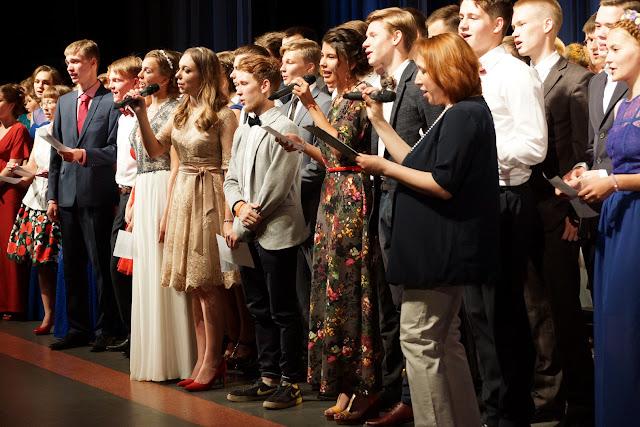 Фотография с выпускного вечера