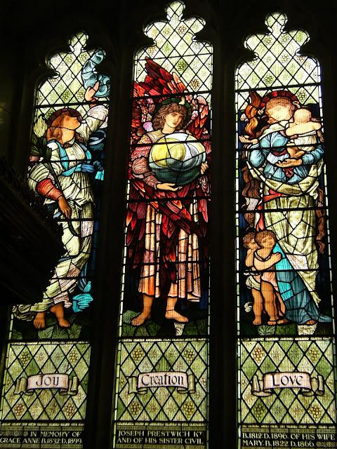 DSCF9332 Burne-Jones window, Shoreham church