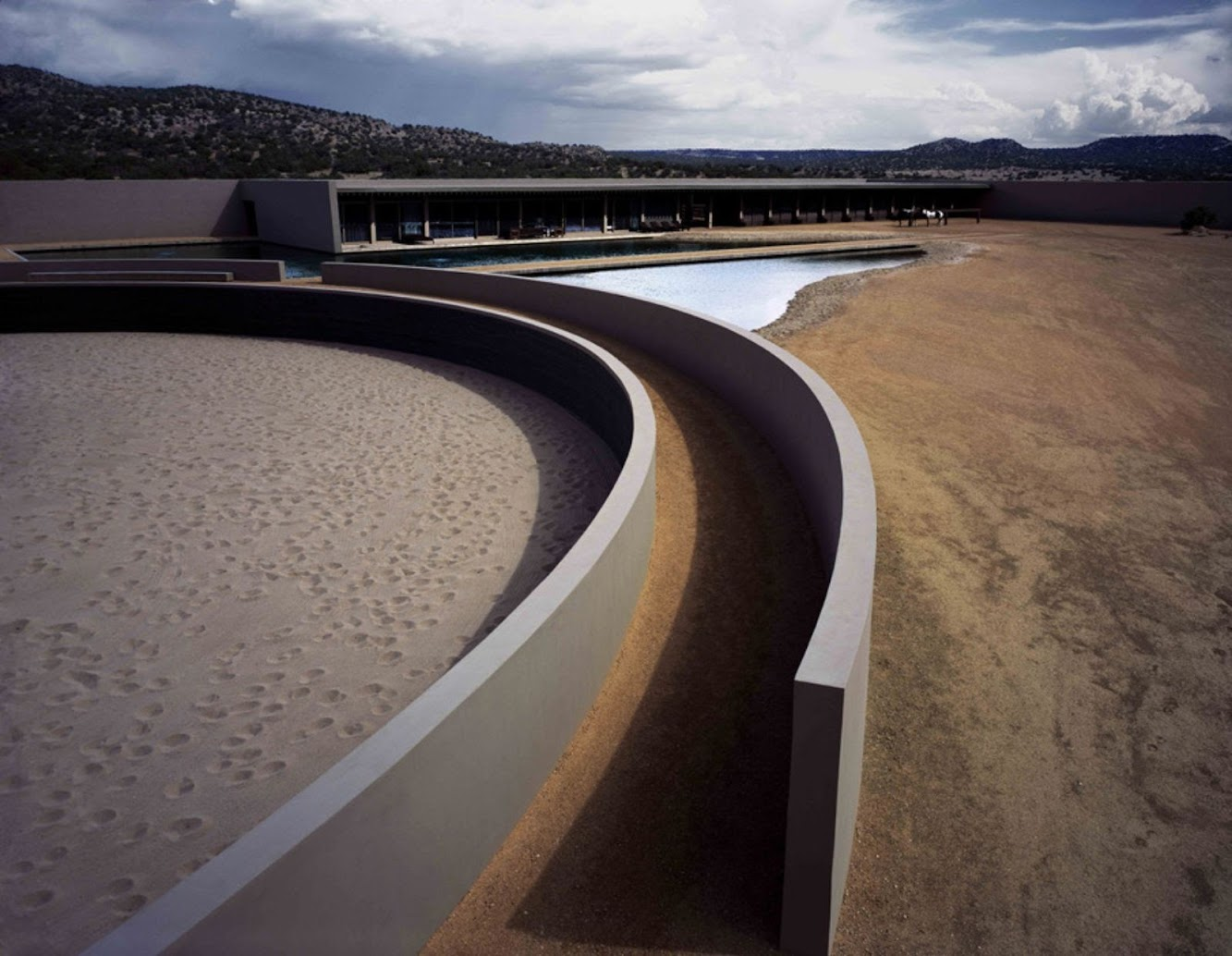 Santa Fe, Nuovo Messico, Stati Uniti: Tom Ford'S Ranch by Tadao Ando