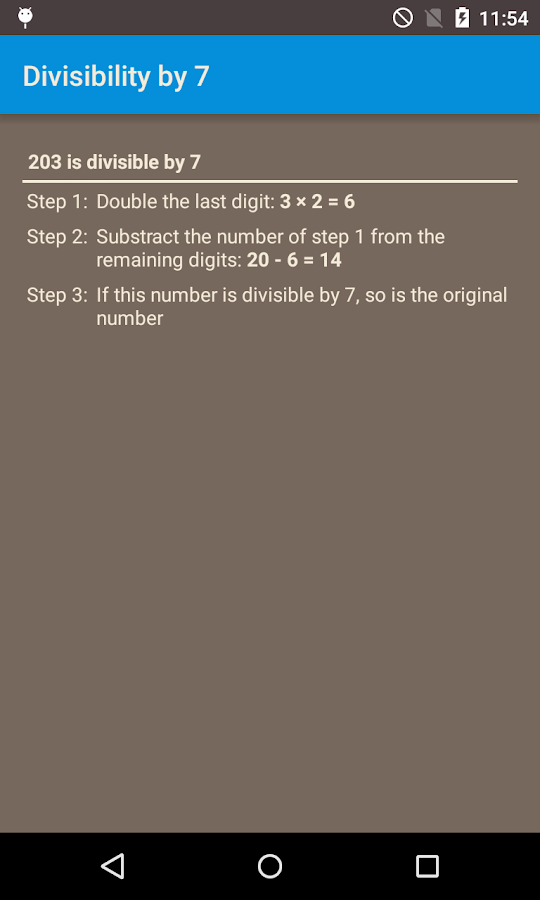 Math tips and tricks- screenshot