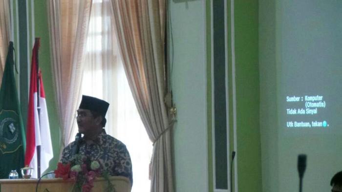 Ketua DKPP RI Jimly Asshiddiqie Beri Kuliah Umum
