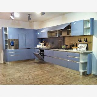 Colore arredo e pareti blu carta da zucchero http for Carta d arredo