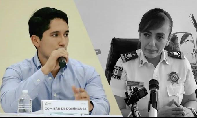 Investigan a sobrino de Secretaria de Seguridad en Chiapas.