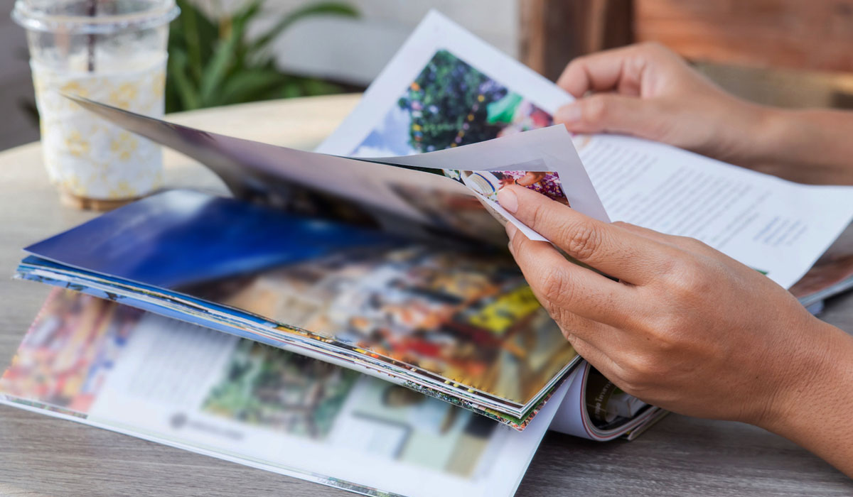 Keep Comic Magazines and Travel Journals