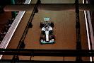 Lewis Hamilton, Mercedes F1 W05 Hybrid in the pit