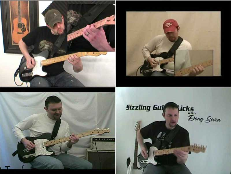 Doug Seven - Sizzling Guitar Licks & Playing In Circles