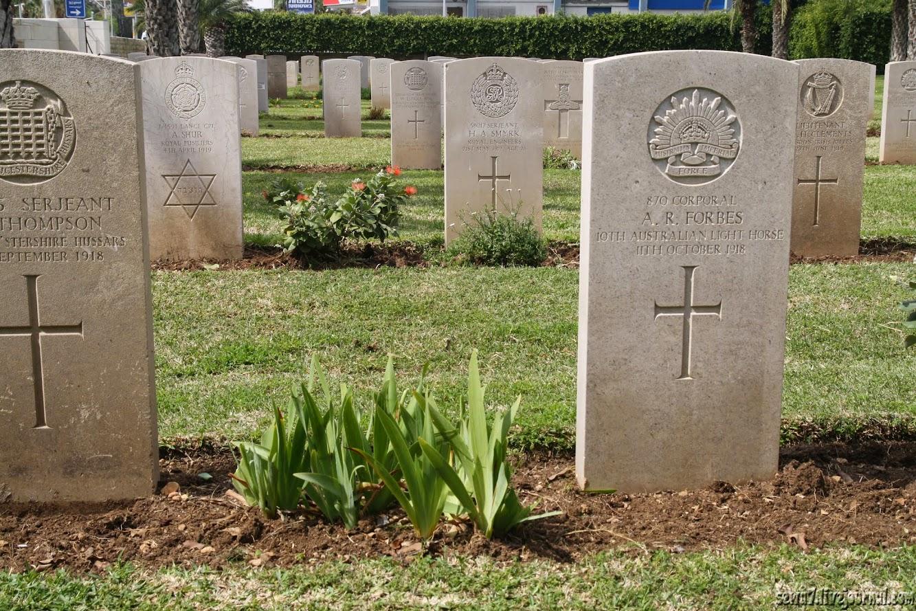 Военные мемориалы Хайфы
