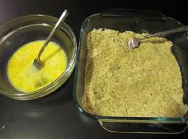 # 1 Recipe: 1.Have bowl of flour ready another with beaten eggs, and another with...