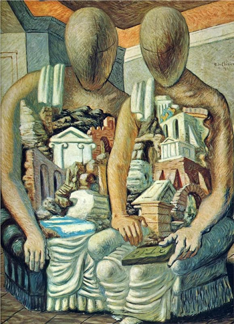 Giorgio de Chirico - The Archaeologists