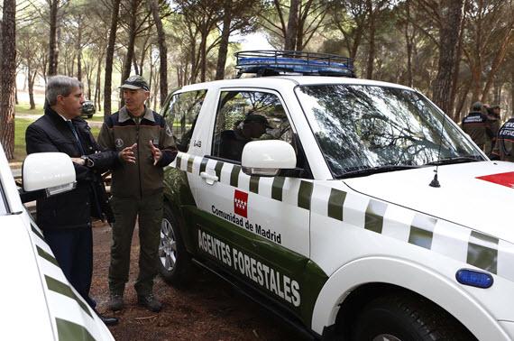 22 nuevos todoterreno para los agentes forestales de la Comunidad