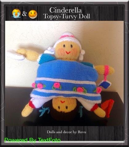 Knitting Pattern For Upside Down Cinderella Doll : Dolls and Decor by Revu..............: Cinderella Topsy-Turvy Doll.