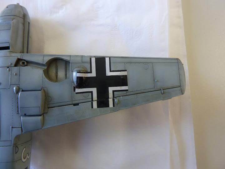 Bf-109 E-3 Tamiya 1/48 - Reforma pintura P1020523
