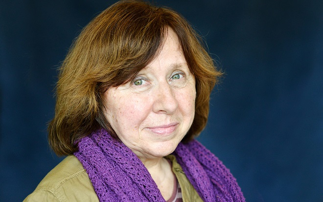 A 2015-ös irodalmi Nobel-díjas: a fehérorosz Szvetlana Alekszijevics