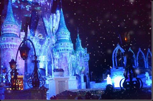 Elsa made it snow