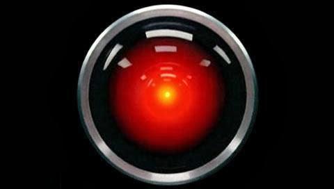 El archiconocido objetivo de HAL 9000, el «Gran Hermano» de «Una Odisea 2001 del Espacio»