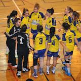 Moins de 18 féminines contre Sud Côte d'Or (23-11-13)
