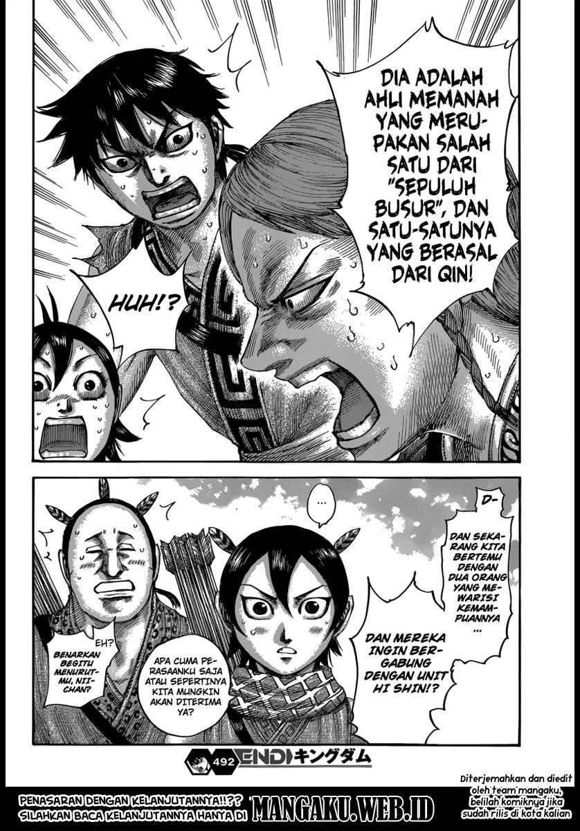 Baca Manga Kingdom Chapter 492 Komik Station