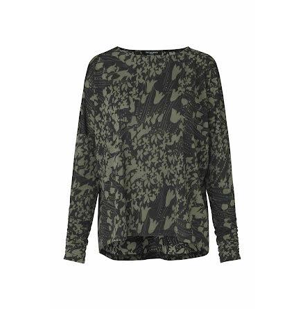Ilse Jacobsen Crezia blouse army