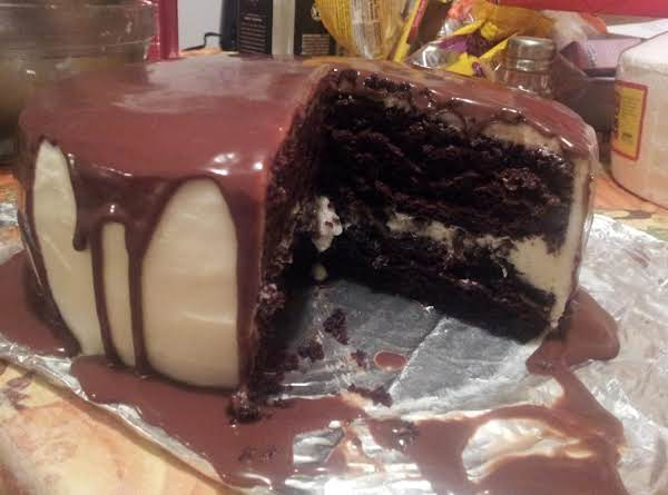 Chocolate Cake, Vanilla Buttercream, Choco Gnache Recipe