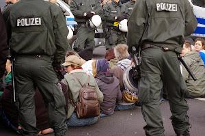 13.04.2015: Protest gegen Dügida.