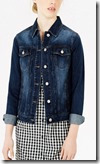 Warehouse Dark Wash Denim Jacket
