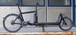 eBullitt mid drive lastcykel